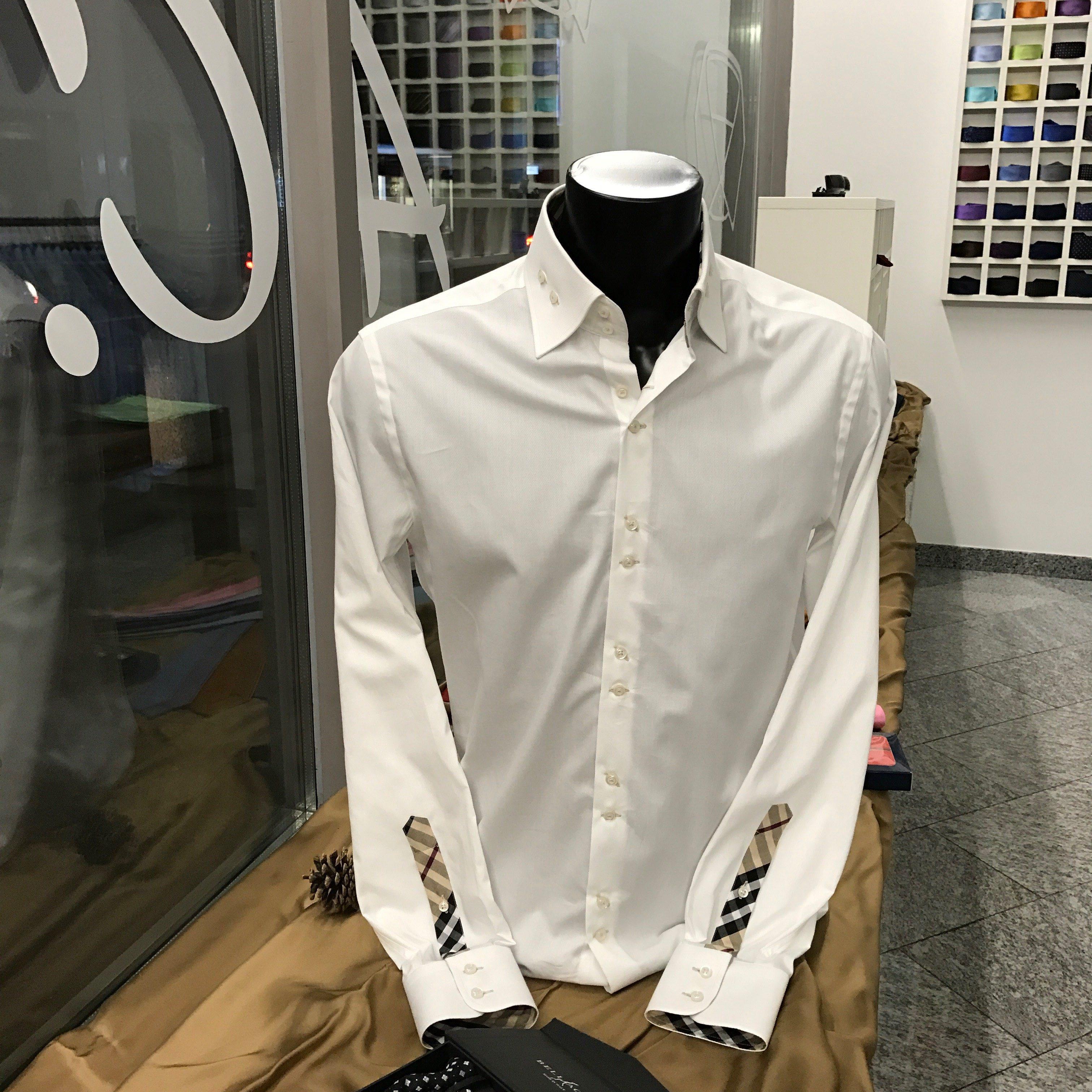 pretty nice e6d0c 5ebfa Camicie su misura | L'arte del Cucito